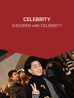 ,CELEBRITY  EDITORIAL - SHOOPEN with CELEBRITY SHOOPEN EDITORIAL